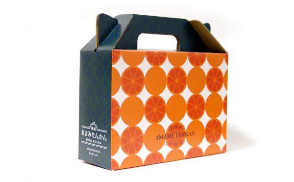 たんかん化粧箱|デザイン|奄美|特産品