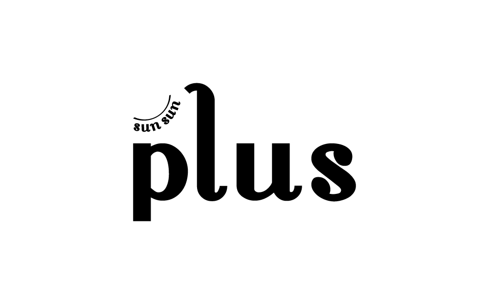 ロゴマーク デザイン 奄美 sun sun plus(雑貨屋)