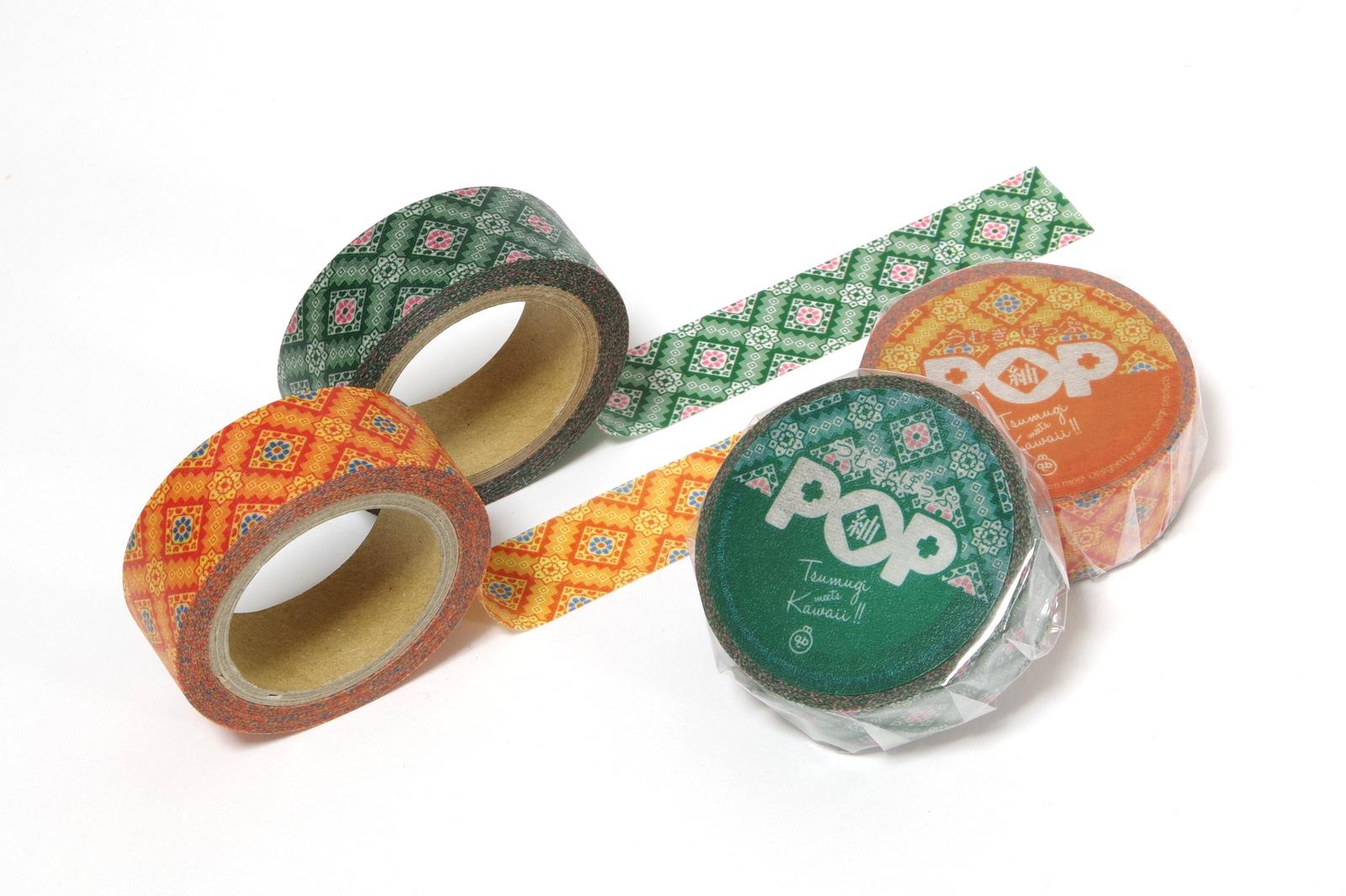 大島紬マスキングテープ(紬POPマステ)